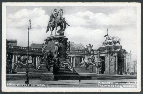 Berlin Denkmal Kaiser Wilhelm I.