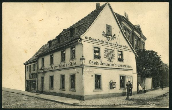 Zwickau Oswin Schumann`s Schankhaus