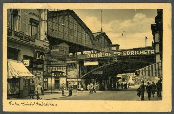 Berlin Bahnhof Friedrichstrasse