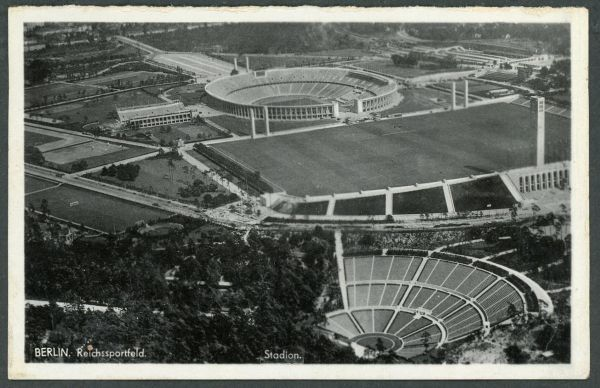 Berlin Reichssportfeld Stadion