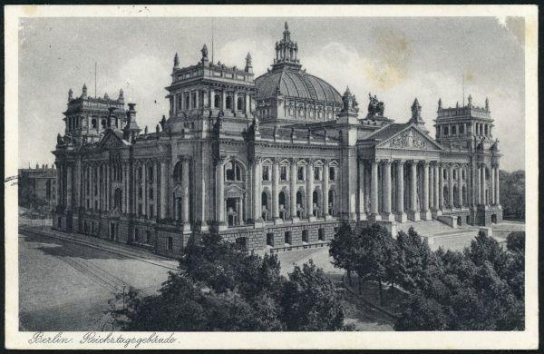 Berlin Reichstagsgebäude